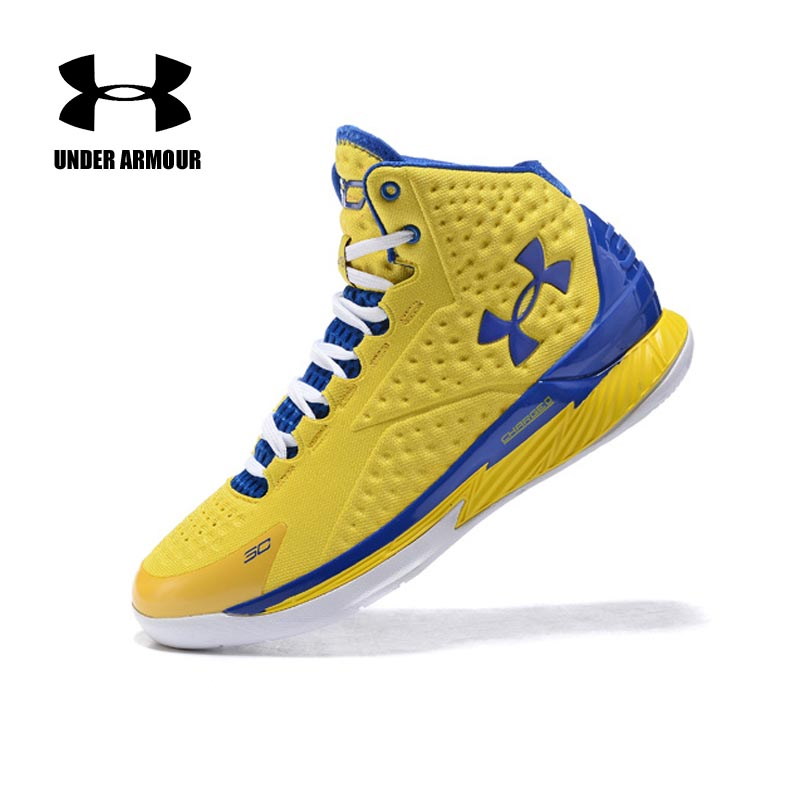2454bc3a7b45 Under Armour Men Curry V1 Basketball shoes Stephen Curry training boots  Zapatillas hombre deportiva classic basketball sneakers -in Basketball Shoes  from ...