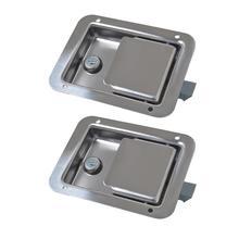 Нержавеющая сталь Авто защёлка ключи для караван прицепы товары для машины замок автомобиля интимные аксессуары замена Кале Pied де МОТ