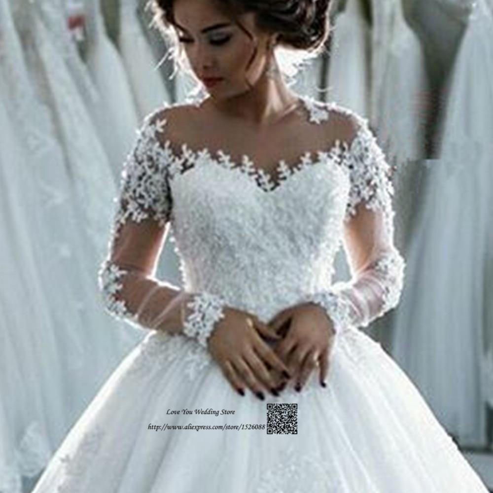 Vestido de Casamento Vintage Wedding Dress 2017 Princess Ball Gown ...