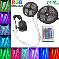 5M 10M 3528 RGB LED Strip Light SMD2835 Waterproof  Nowaterproof for 24 Keys Controller 12V Power Flexible Lighting diode Tape