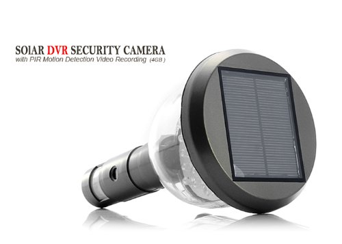 YobangSecurity Waterproof cam Solar Power PIR Outdoor Security Camera With Night Vision Surveillance CCTV Camera Video Recorder
