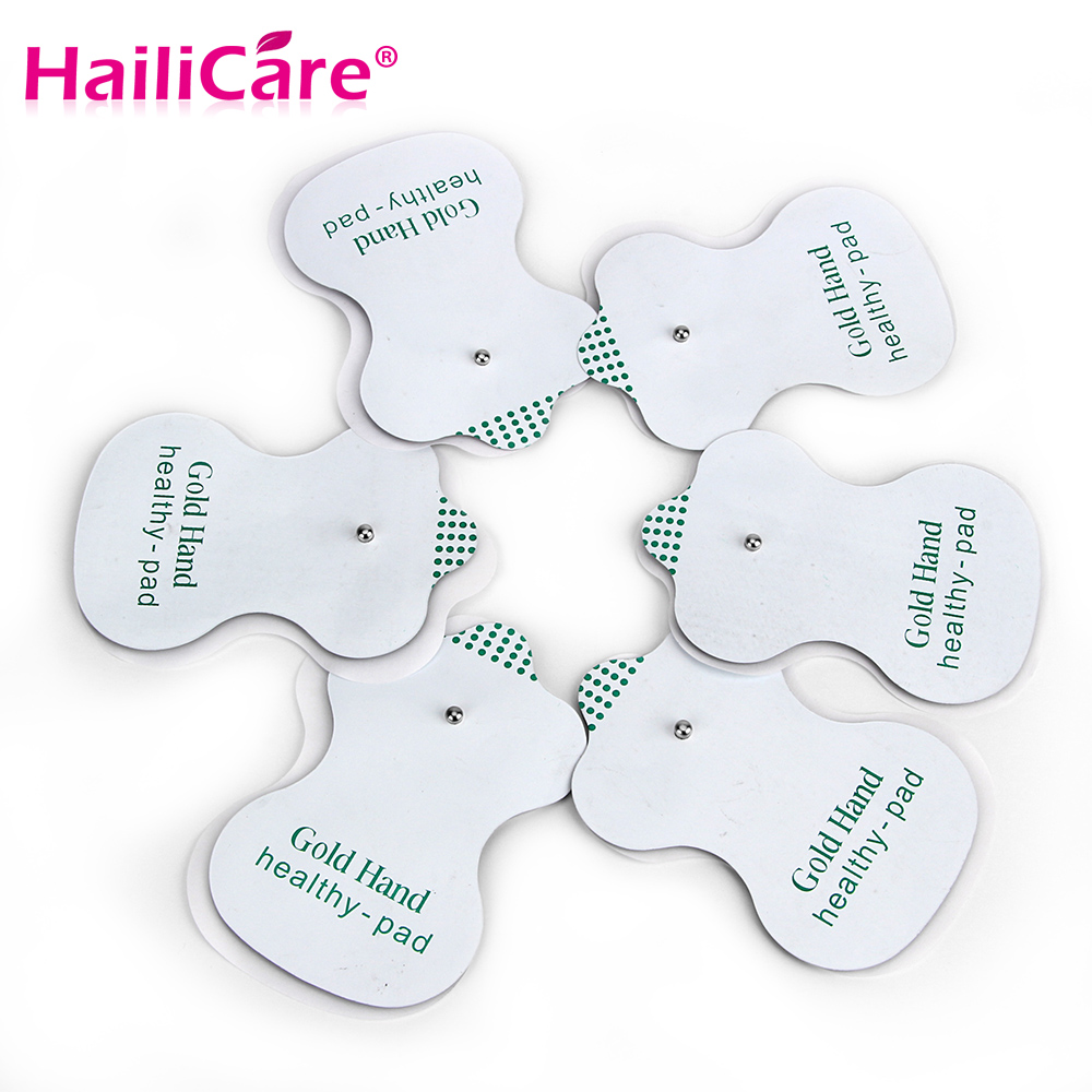 Health Care! 20pcs/lot NEW White Electrode Pads For Tens Acupuncture Digital Therapy Machine Slimming Massager Free Shipping!