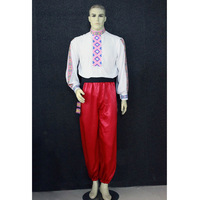 High Quality Custom Made Man Or Children Russian National Suits,Folk Dancing Tops For Men Jackets and Pants Trousers HF008