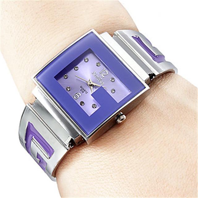Lady Women's Watch Japan Quartz Hours Clock Fine Fashion Brand Xirhua Dress Brac