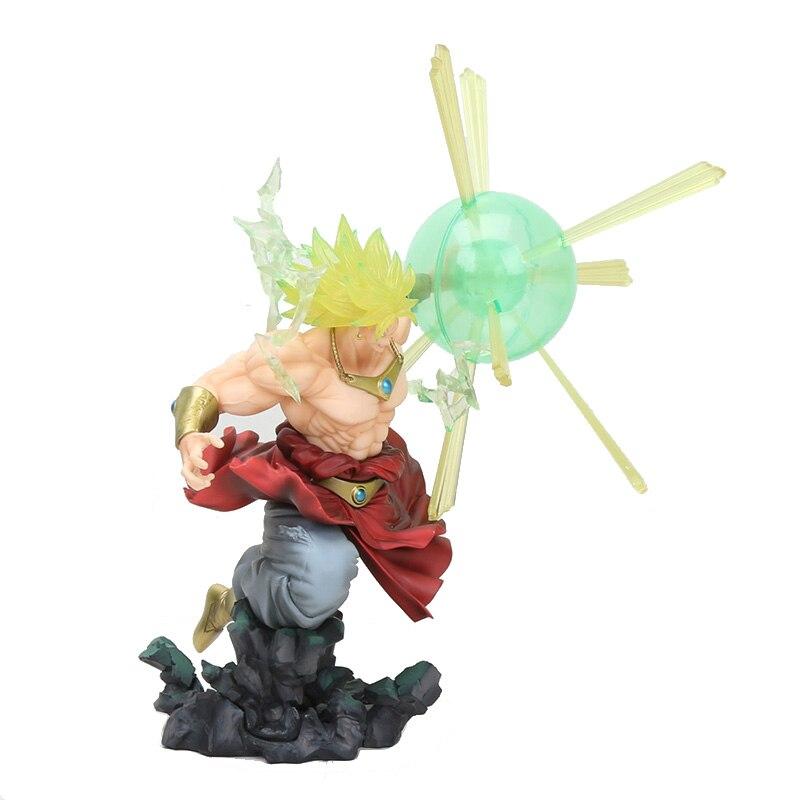 16 cm Dragon Ball Z Broli Broly Super Saiyan DBZ PVC figurine à collectionner modèle jouets cadeau poupée