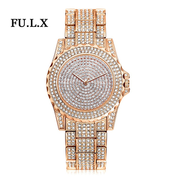 Rhinestone Crystal Wristwatch