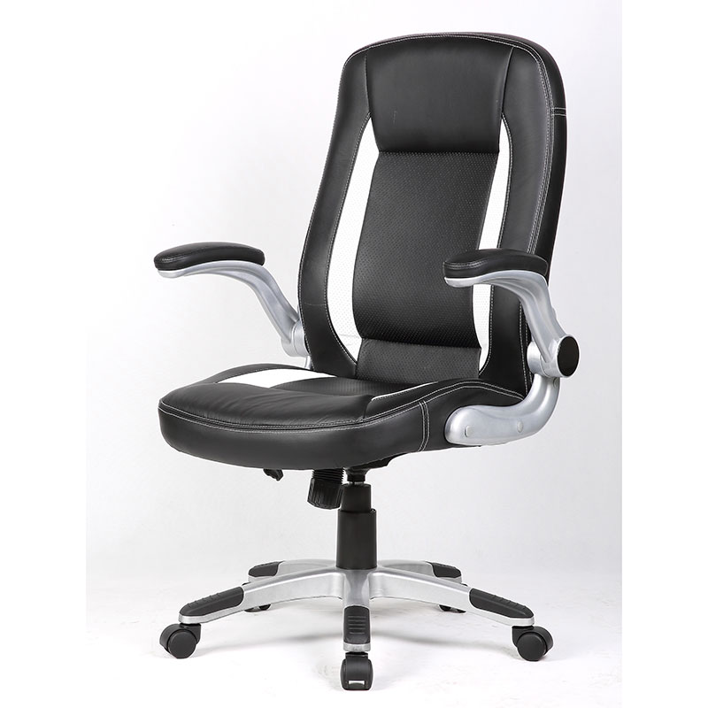 Computer Chair 360 Degree Swivel Streamlined Leather Office Chair High Back Racing  Seat Adjustable Height Chair Home Furniture In Office Chairs From ...