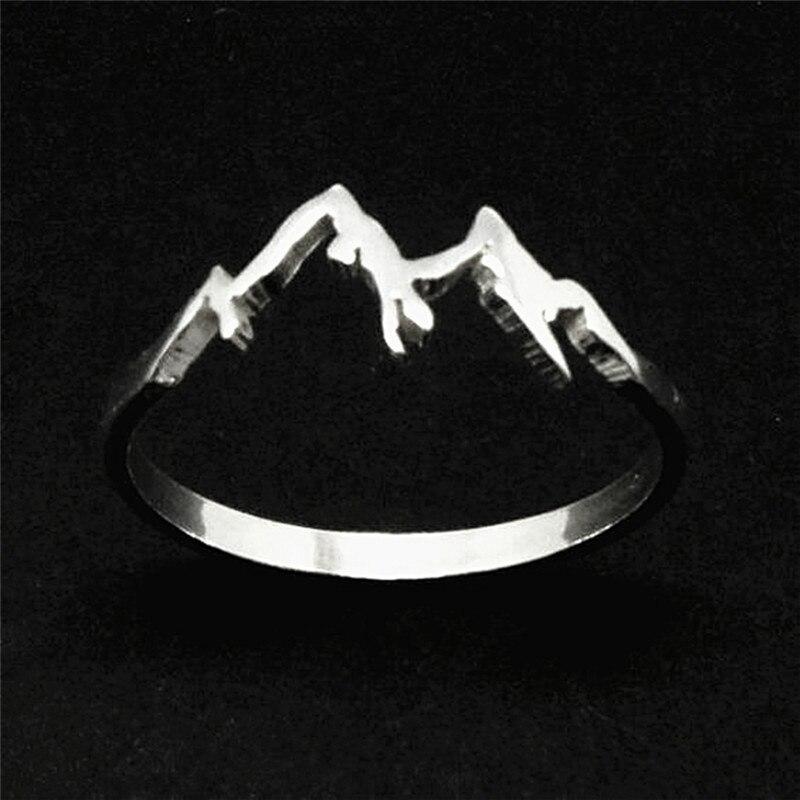 BOAKO 2020 модное креативное кольцо для горного хребта, природная мотивация, ювелирные изделия для пешего туризма, сноуборда, любимого человека, подарок, Bijoux Femme, Прямая поставка, X7 M|Кольца для помолвки| | АлиЭкспресс