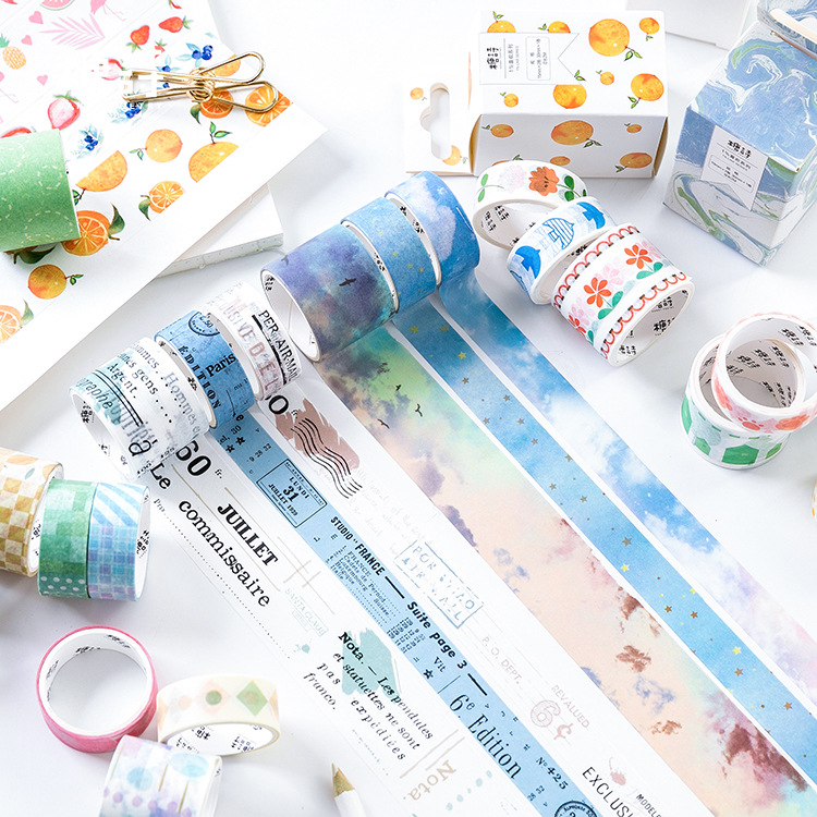 3pcs/lot Mohamm 1% Love Series Set Kawaii Japanese Handbook Decorative Paper Washi Masking Tape School Supplies Stationery