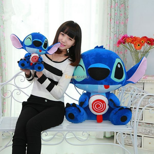 Fancytrader 26\'\' 65cm Giant Stuffed Soft Plush Lovely Big Funny Stitch, Free Shipping FT50691 (9)