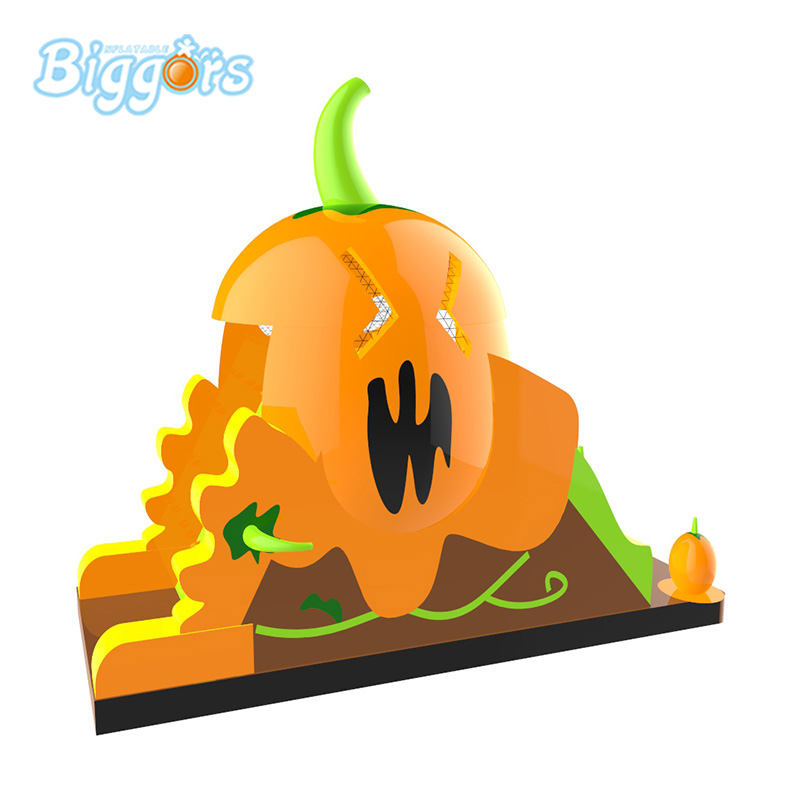 Hot Sell Inflatable Slide Inflatable Pumpkin Slide With Blowers
