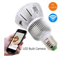 HD 1080P Hidden Smart Home Safty Wifi Camera E27 LED Lamp Bulb Security Camcorder Motion Detection CCTV Support PC Tablet Phones