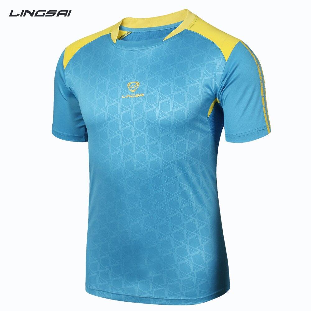 T-shirt design quick - Aliexpress Com Buy Lingsai Summer Men S T Shirts Fashion 2017 New Design Quick Dry Men Jersey T Shirt Men Tops Tees Free Shipping Plus Size M Xxxl From
