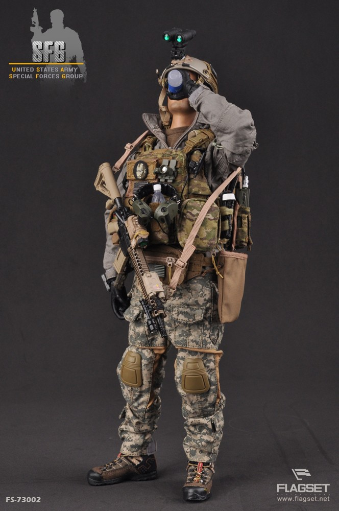 купить 1/6 scale Military figure doll U.S. ARMY SFG Special Forces soldiers 12