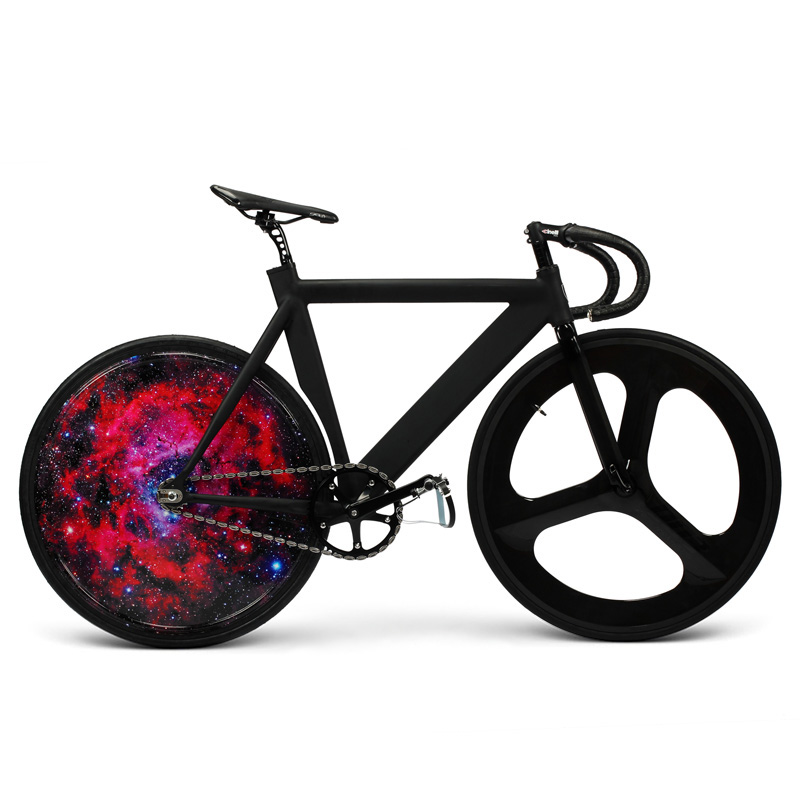 Cool Bicycle Racing Bike LED Light Box Custom Rear Wheel ...