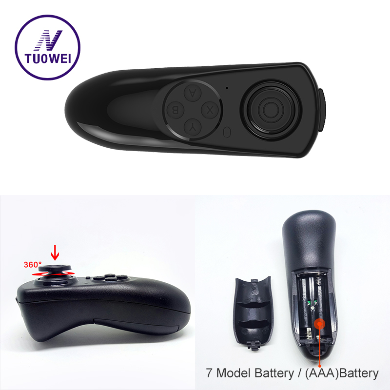 Wireless Bluetooth Gamepad TV PC VR Remote Controller For Android Joystick Game ios gamepa Control For 3D Glasses VR BOX