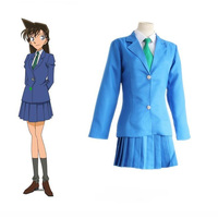 Giappone Anime Detective Conan Cosplay Mouri Ran Costumi Ragazza Rachel Moore School Uniform Cosplay Costumi di Halloween Set + Camicia