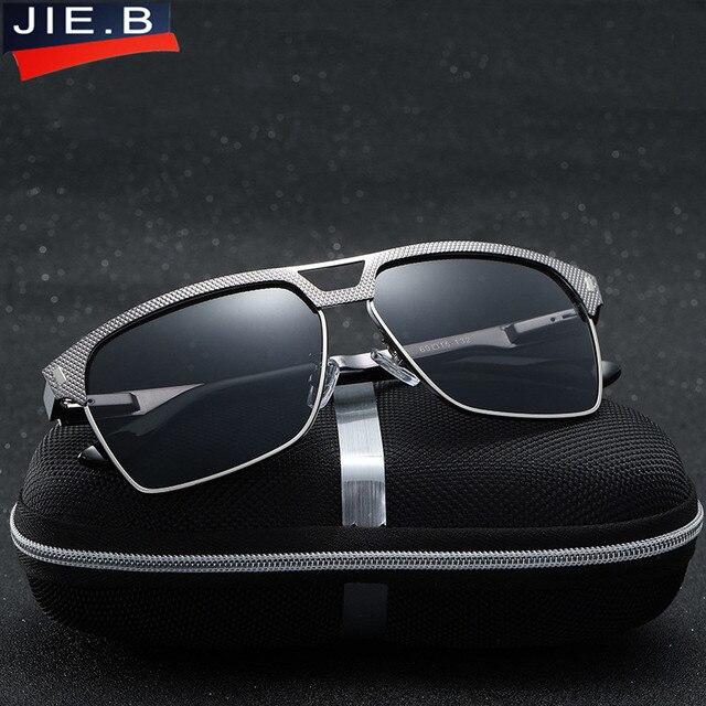 c35c3d8411 B Men HD Polarized Sunglasses Classic Brand Designer Men s Driving Sun  glasses Mirror UV400