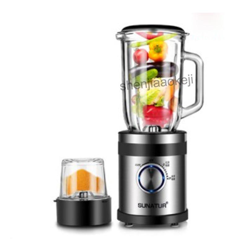Stainless steel vacuum juicer household automatic fruit vegetable multi-function small food processor juice machine 220v 350W цены