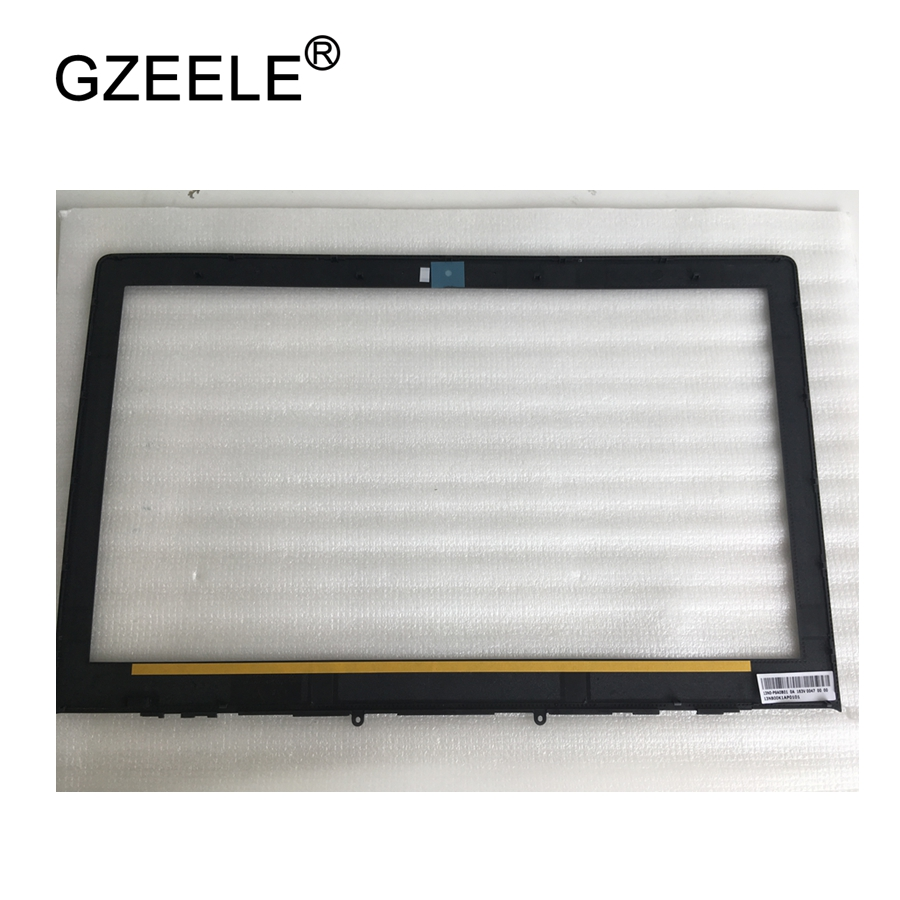 GZEELE NEW Laptop Front LCD Bezel cover for Asus N550 N550JK N550J N550JV PN :13N0-P9A0B01 13NB00K1AP0101 Laptop case no touch все цены