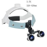 3.5X R Dental Surgical Medical Headband Binocular Loupes Glasses Magnifier Bullet Points