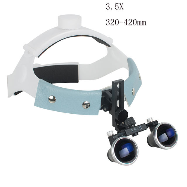 3.5X-R  Headband Binocular Loupes Glasses Magnifier Bullet Points