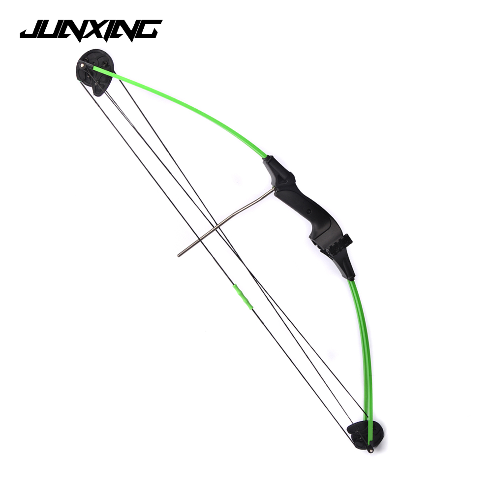 34 Inches Children Compound Bow Draw Weight 15 Lbs Black Fiberglass Handle for Archery Practice Competition Game Shooting hot sale children compound bow draw weight 8 12 lbs for archery practice competition games bow target hunting shooting page 4