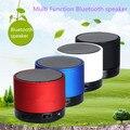 Mini Speaker Bluetooth X3S TF USB Rádio FM Caixa de Som Portátil de Música Alto-falantes Subwoofer com Microfone Sem Fio para iOS Android