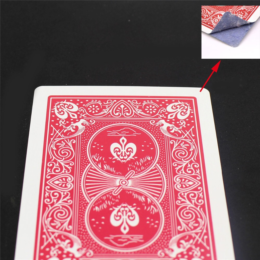 Купить с кэшбэком Stripper Svengali Marked Deck Poker Cards Magic Tricks Professional Street Magia Magie Easy Doing