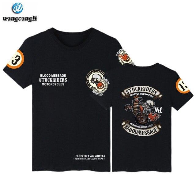 1fdff6bf9b7993 2019 new skull stockriders motorcycles summer t shirt men music brand t- shirt gothic rock clothes punk tshirt t shirts tops