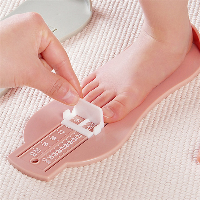 Children Foot Measure Gauge Toys Sock Shoes Size Measuring Nesting Toy Toddler Infant Shoes Fittings Toe Length Measure Tool