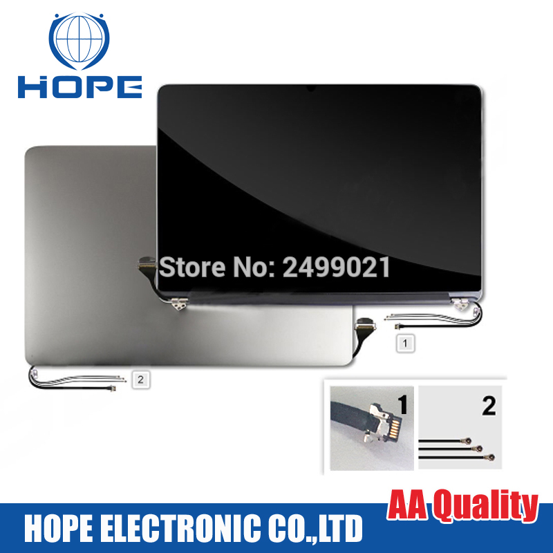 Genuine Used 2012 Early 2013 A1398 LCD LED Screen For Macbook Pro 15Retina A1398 LCD Screen Assembly 661-6529 661-7171