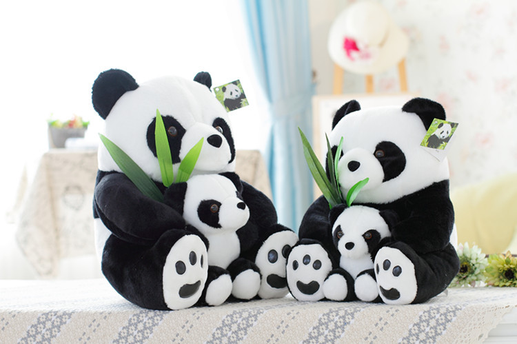 kawaii soft animal plush pillow cute stuffed animals panda 50cm toys for babies girls girlfriend birthday party decorations kids largest size 95cm panda plush toy cute expression panda doll birthday gift w9698