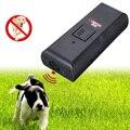 2 en 1 Anti Ladridos de Parada de la Corteza de Ultrasonidos Perro de Mascota Ahuyentador Adiestrador de Alta Calidad