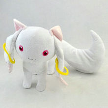 New 9 Puella Magi Madoka Magica Kyubey Plush Toy Doll Free Shipping