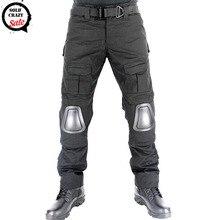 Militaire Tactique Pantalon avec Genouillères Multicam Pantalon Cargo Nous Armée Airsoft Paintball Combat Costume Hommes Camouflage Chasse Pantalon
