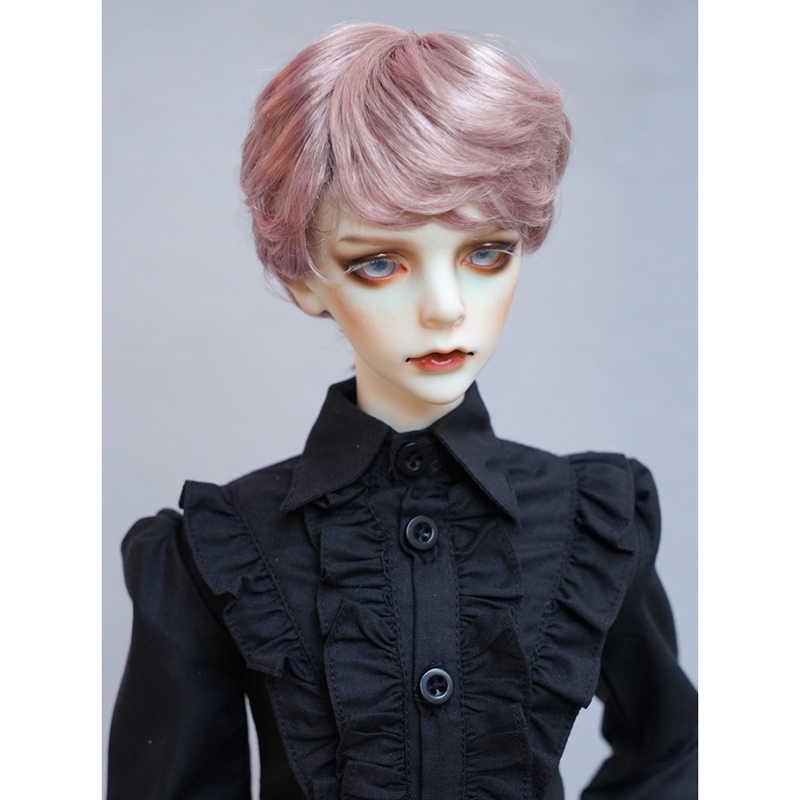 Cateleya 2018 Новый горячий грязный короткие волосы косой челки лимитированная коллекция BJD SD кукольный парик 1/3 1/4 кукла 1/6 волос