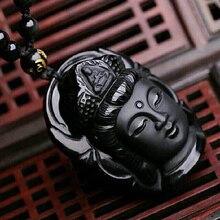 Unisex Beads Necklace with Buddha Pendant