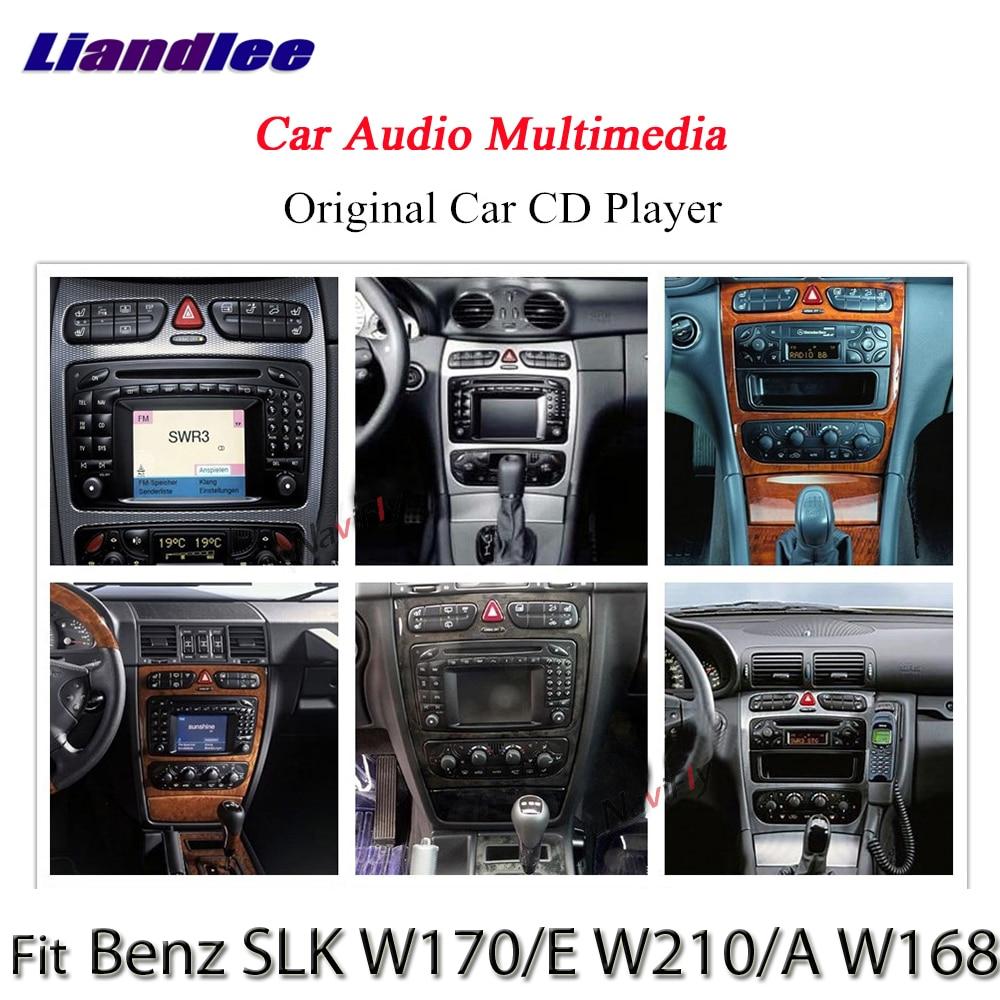 Liandlee Android Системы для Mercedes-Benz SLK W170/E W210/W168-радио gps Nav карта навигации HD Экран мультимедиа NO DVD