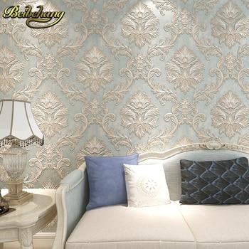 Wall Murals For Sale | Beibehang 3D Damask Wall Paper Bedroom Living Photo Mural Sale Wallpaper For Walls Papel De Parede 3d Wallpaper For Walls Modern