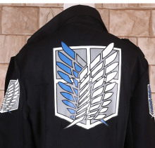 Attack on Titan Cloak Windbreaker Anime costumes Jacket Halloween cosplay costume