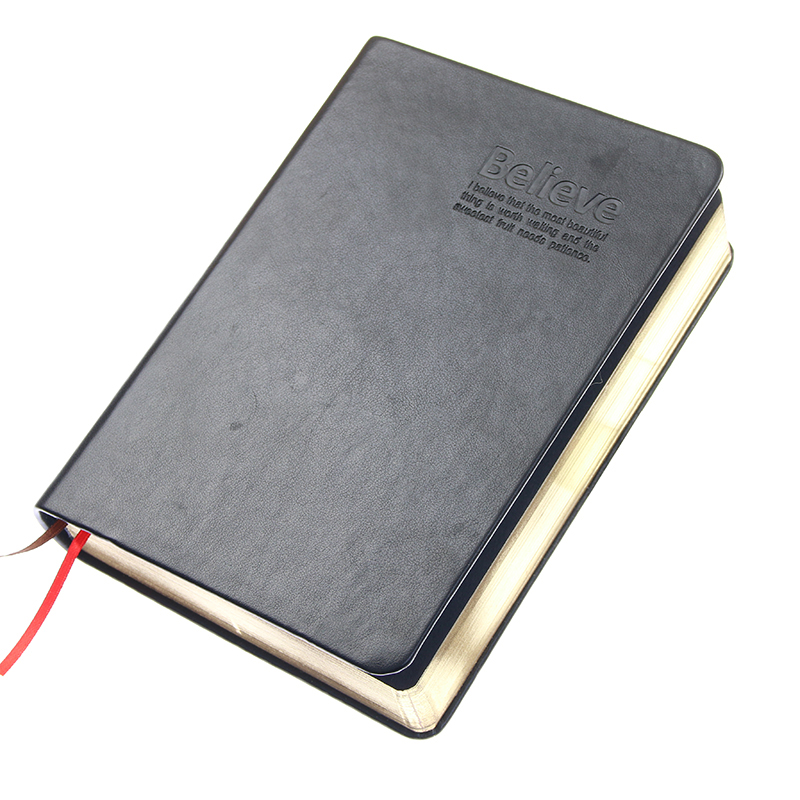 Vintage Thick Notebook Bible Diary Book