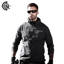 CQB Summer Sunscreen Jacket Män Elastic Vattenavvisande Jakt Kläder UPF40 + Urltra Light Stor Storlek Märke Kläder CYF113