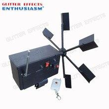 Machine à télécommande à une roue rotative, machine à fontaine froide, à feu, pour les mariages, ELT01R