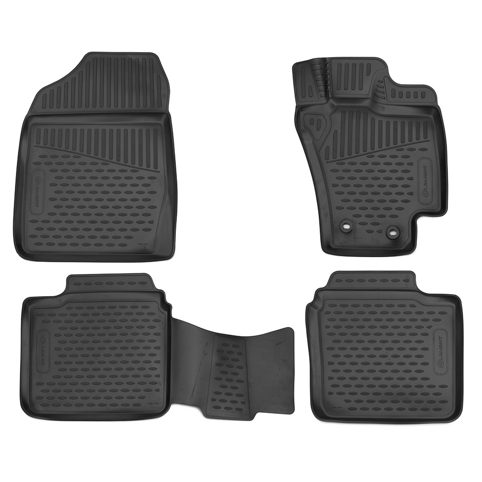цена на For Toyota Premio/Allion 260 4WD 2012-2015 RHD 3D floor mats into saloon 4 pcs/set Element ELEMENT3D48140210K