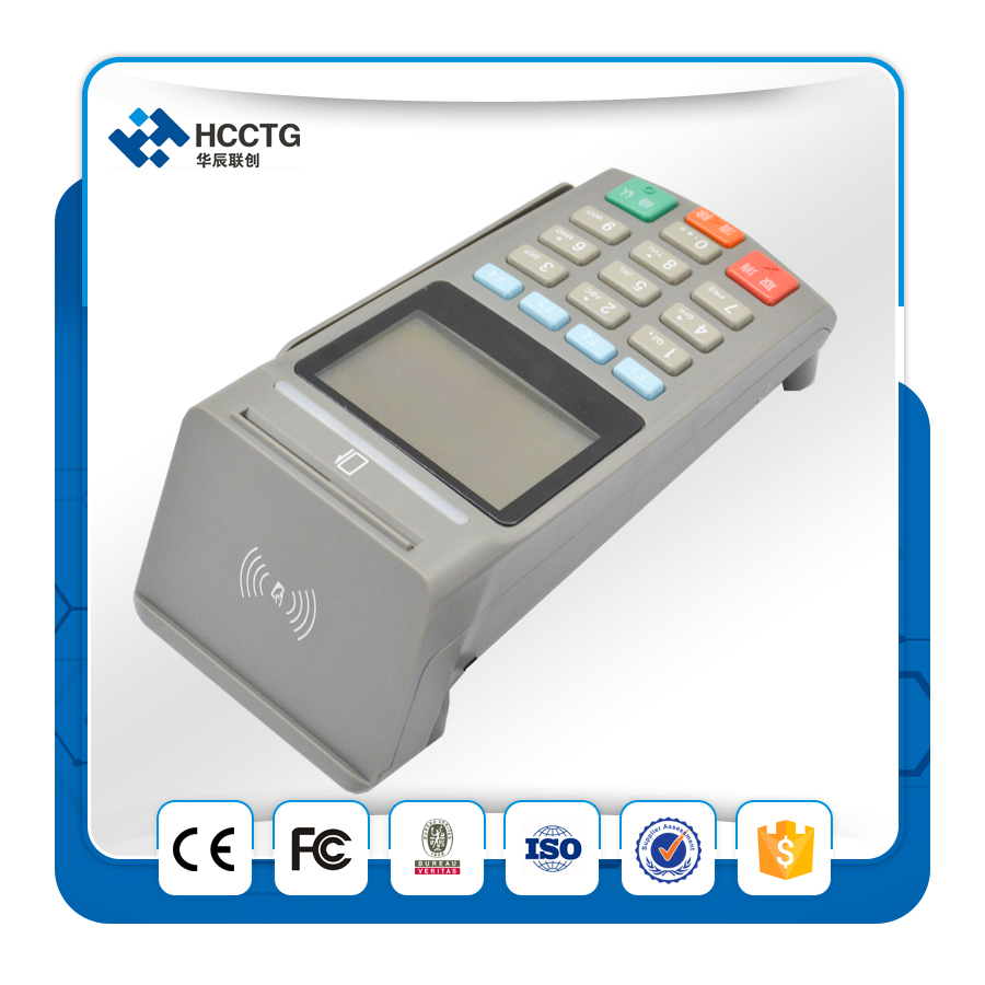 USB/RS232 Interface à option ATM Cryptage Pin Pad Paiement Machine Avec MSR Z90PD - 2