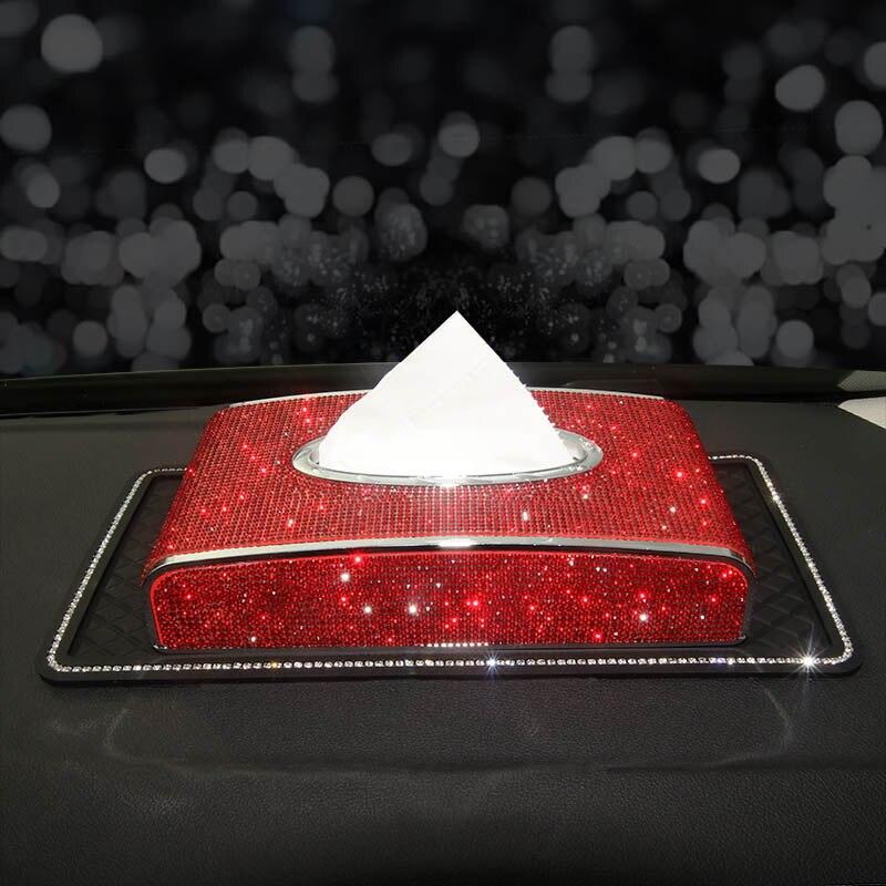 Rhinestone-Car-Tissue-Box-Bling-Diamond-Crystal-Auto-Tissue-Holder-Car-Styling-Diamante-Block-type-Tissue-Paper-Cover-11