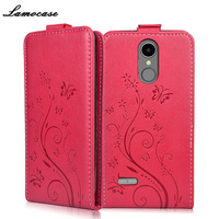 Case For LG K8 2017 X240 Vertical Flip PU Leather Cover For LG K8 2017 M200N