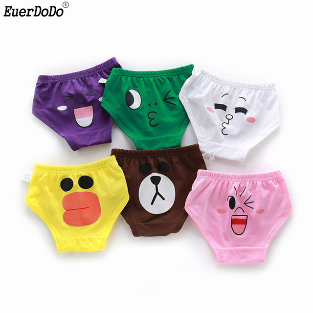 8c43e367b68cc Baby Cotton Briefs Cartoon Panties For Toddler Boys Girls Underwear Kids  Candy Color Thong China Factory Wholesale