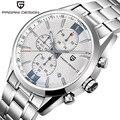 2016 Relojes de Caballero De Marca Sport Luxury Reloj de Buceo 30 m Reloj PAGANI DISEÑO de Cuarzo Multifunción Reloj Militar Hombres Reloj Hombre